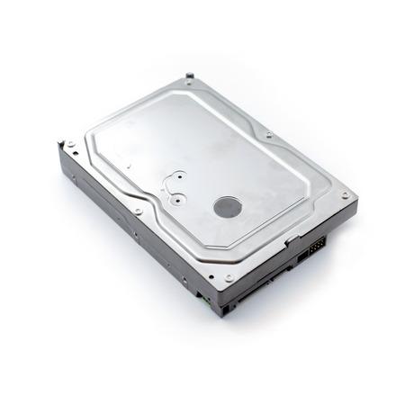 escritorio unidad de disco duro en el fondo blanco Foto de archivo