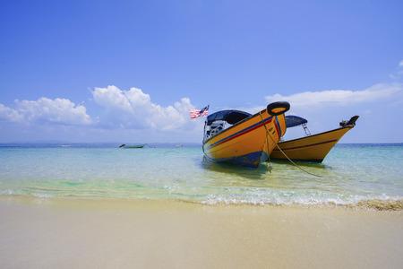 perhentian: Landscape of beautiful tropical beach at Kapas Island, Malaysia