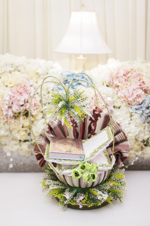 Holy Quran for wedding gift with beautiful decoration