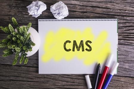 CMS.  Notes over CMS, concept