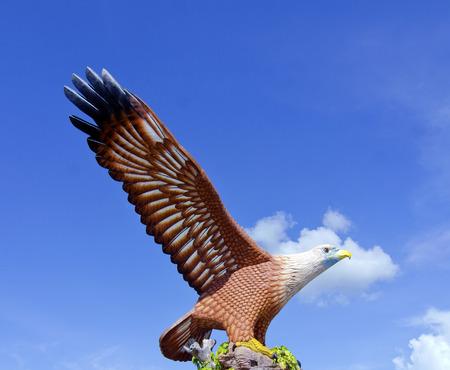 langkawi: Eagle Statue, Symbol of Langkawi Island, Malaysia.
