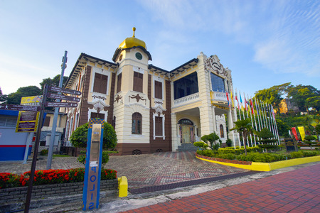 MALACCA, MALAYSIA - June 30, 2016 : Independence Memorial building in Malacca. Malacca has been listed as a UNESCO World Heritage Site since 7 July 2008 Editorial