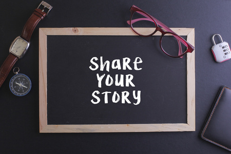 Share your story on blackboard