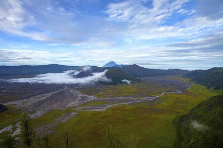 Majestic view of Mount Bromo