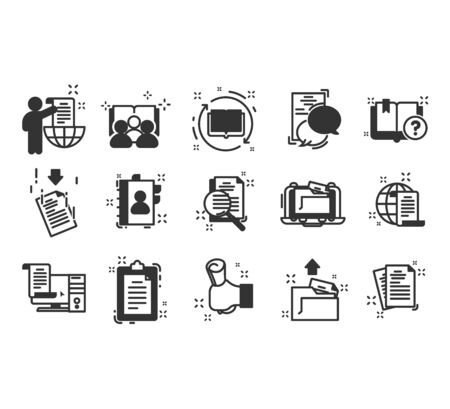 Simple Set of Approve Related Vector Line Icons. Contains such Icons as Inspector, Stamp, Check List and more. Vector illustration