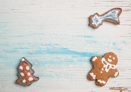 gingerbread cookies: Gingerbread cookies xmas card