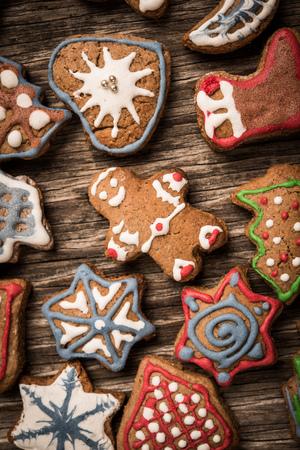 gingerbread cookies: Gingerbread cookies background