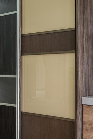 Detail of wardrobe door