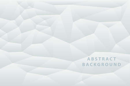 Vector abstract background. White geometric texture. Eps 10 Vector Illustration  イラスト・ベクター素材