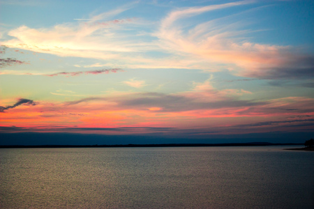 oklahoma: Oklahoma Sunset Stock Photo