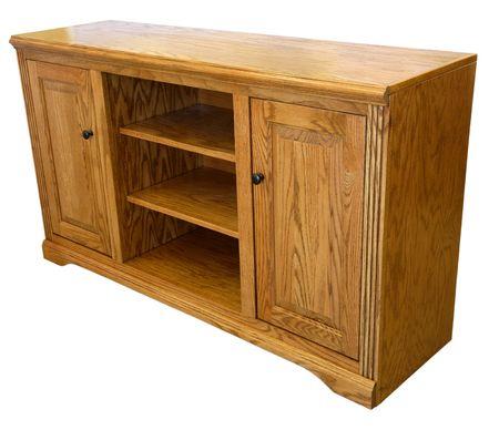 Light Oak High Definition TV Storage Cabinet