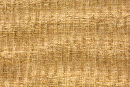 Lichte bruine tint van de aarde Tweed Fabric patroon achtergrond Stockfoto