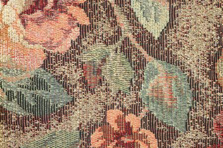 sackcloth: Leaf Fabric Pattern Background