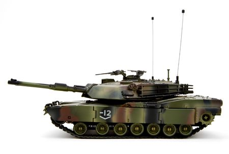 armored: United States Army Military Armored Tank Figurine  Stock Photo