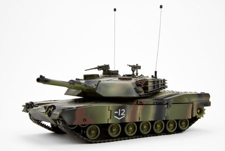 United States Army Military Armored Tank Figurine  Stock Photo
