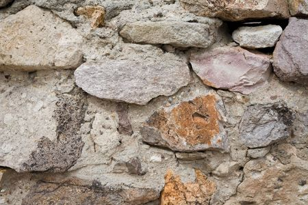 crumbling: Crumbling Concrete Building Wall Detail Textured Background