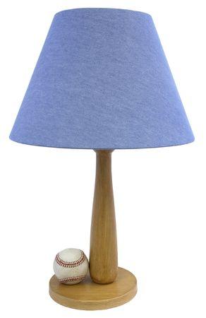 Baseball Themed Youth Bedroom Table Lamp photo