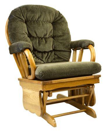 glide: Contemporary Oak Glide Rocking Chair