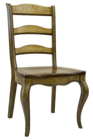 home accents: Antique Hand Painted Dining Room Side Chair