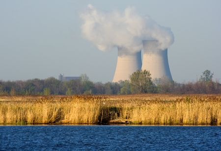 Nuclear Power Plant Фото со стока