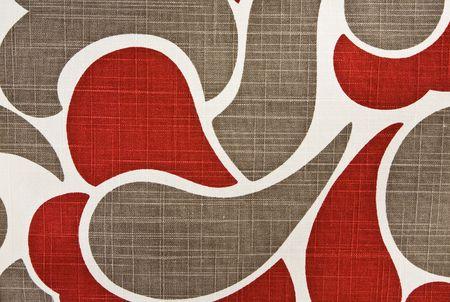 Colorful Abstract Cotton Fabric Contemporary Background Pattern Archivio Fotografico