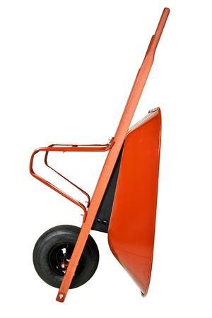 Red Wheelbarrow  Stock Photo