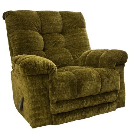 recliner: Big and Tall Sage Green Rocker Recliner Chair