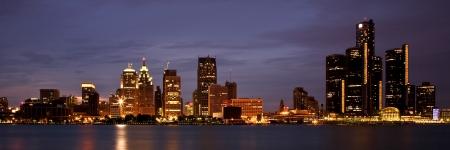 Motown SkylineCity Of Detroit Skyline on the Detroit RiverDetroit, Michigan