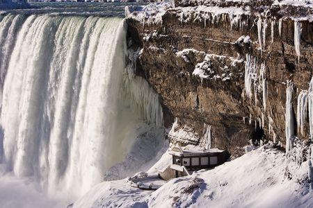 Niagara Falls in Winter Horseshoe Falls Niagara Falls, Canada