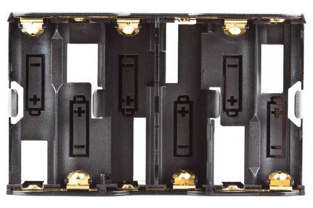 AA Alkaline Battery Power Magazine Six Holder Clip