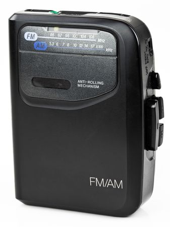 fm: AM FM Stereo Portable Radio Cassette Audio Music Player