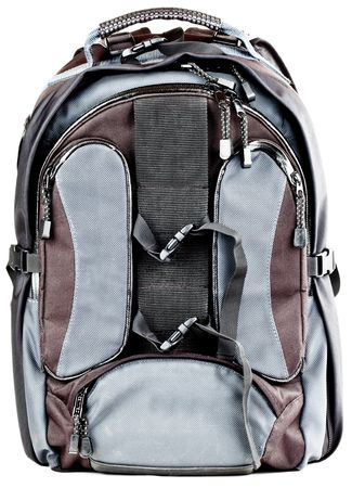 packsack: Hiking Storage Backpack Compartment Zipper Bag