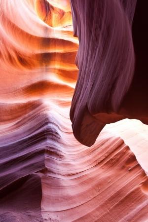 slot canyon: Lower Antelope Slot Canyon Navajo Tribal Park Page Arizona