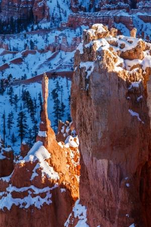Bryce Canyon National Park Snowy Winter Landscape photo