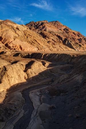 Artist Palette Death Valley National Park California  Stock Photo