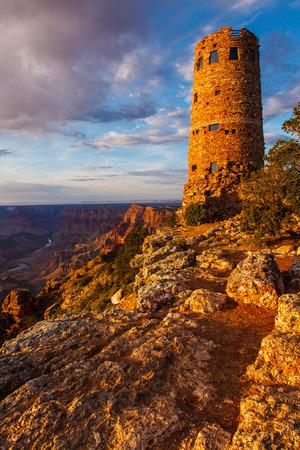Desert View Watchtower Grand Canyon National Park Arizona