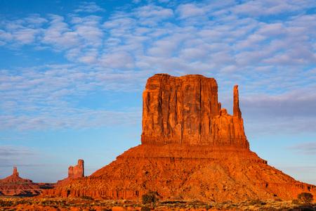 West Mitten Butte Monument Valley Arizona Navajo Tribal Park