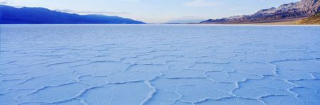 badwater in death valley California Imagens