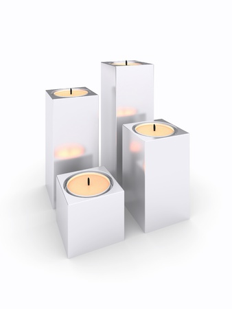 candlelit: 3d candles