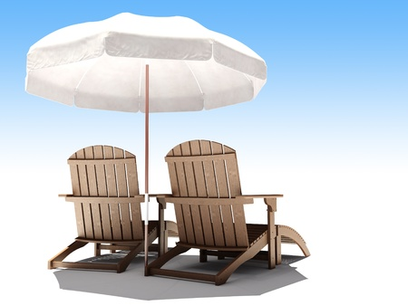3d lounges Stock Photo