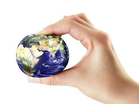 Ecologic pressure on the earth from peaple Stock Photo - 18152543
