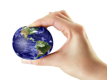 Ecologic pressure on the earth from peaple part Elements of this image furnished by NASA Stock Photo - 18152509