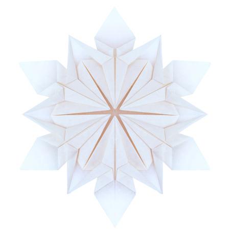 origami facile hiver