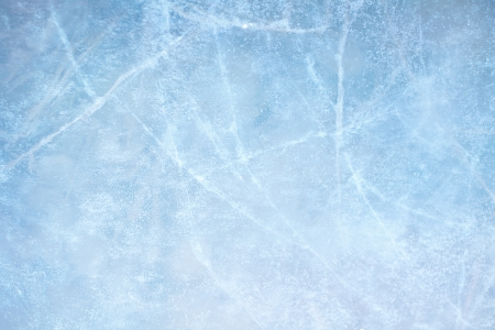 rink: Textured ice blue frozen rink winter background Stock Photo