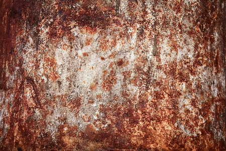red metal: Old rusty red metal textured background