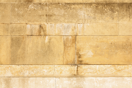 Ancient dirty stone wall  old greece building Knossos palace background