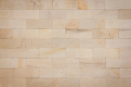 marble wall: Stone brick material masonry beige architecture background