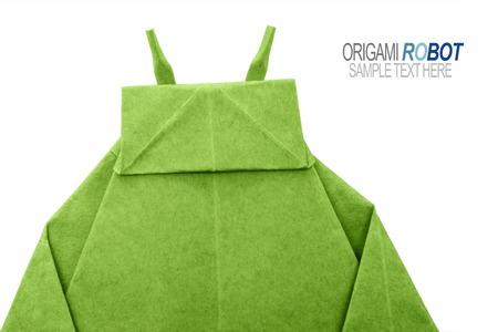 Paper origami robot