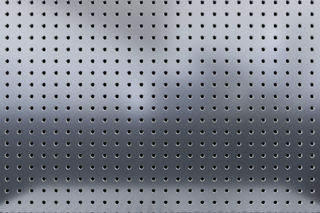 perforated: 3d illustration perforated metal texture