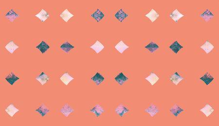 Abstract art textured geometric textil small plain pattern